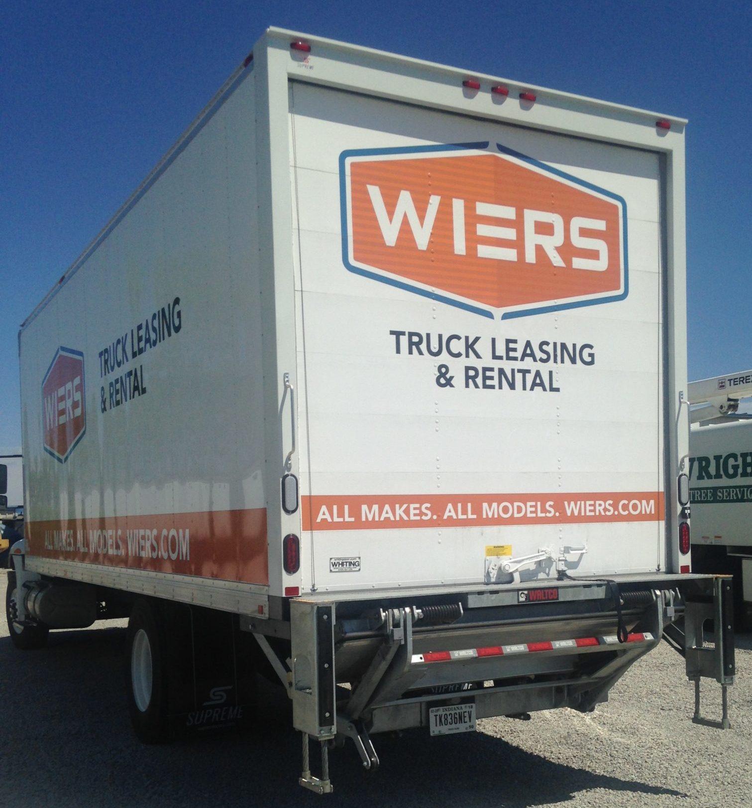 Wiers Box Truck | Wiers