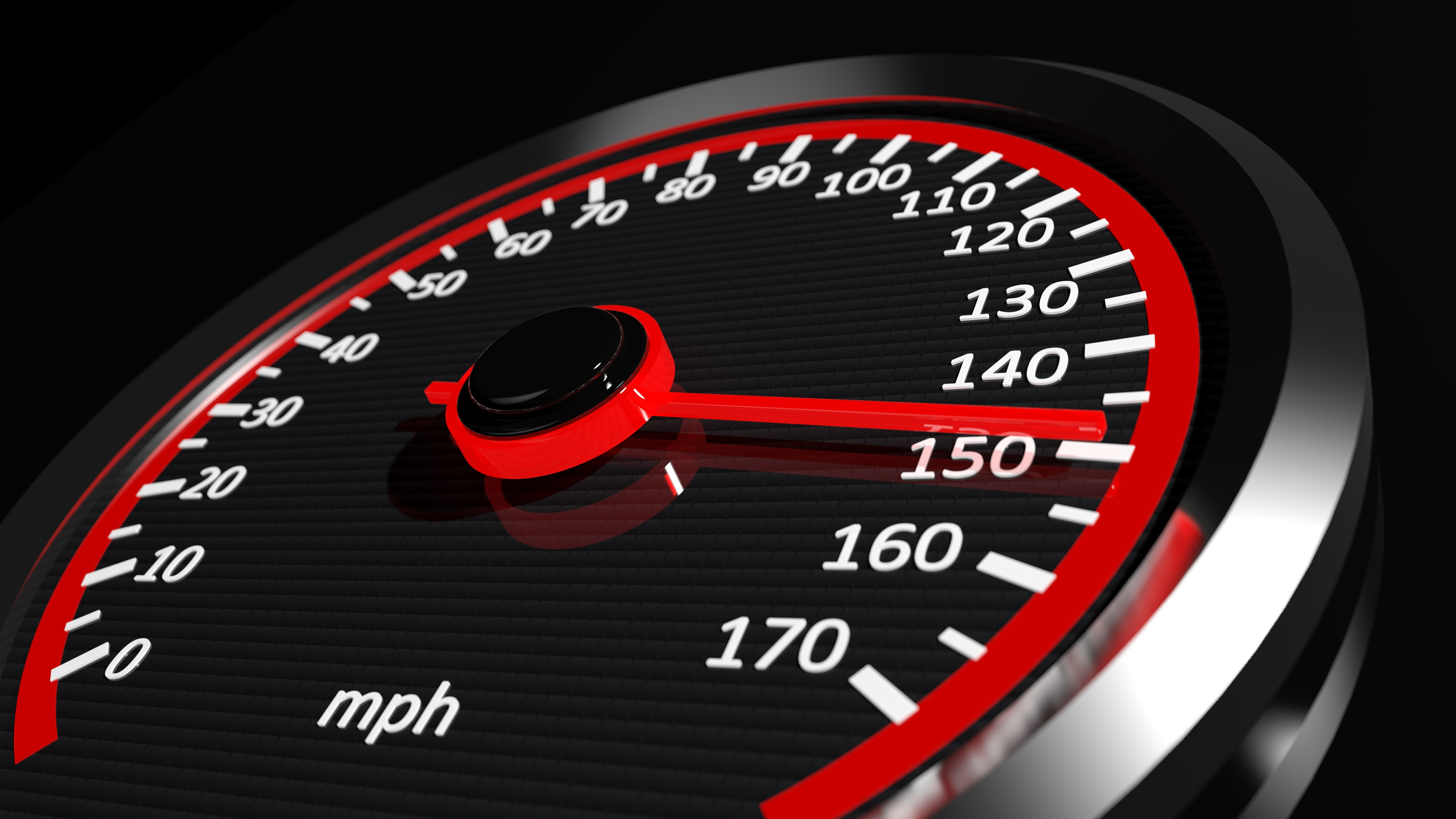 Speedometer with moving arrow | Wiers