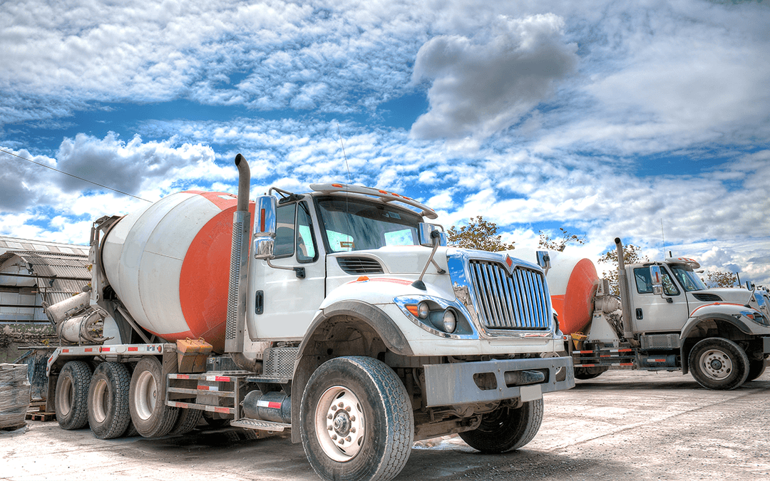 Concrete truck on worksite | Wiers