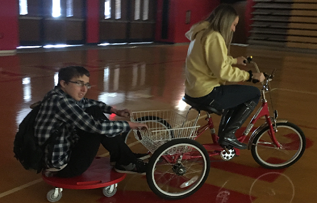 Wiers Donates Bike to Life Skills Class at Plymouth High School