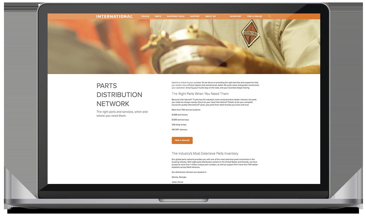 Parts Distribution Network