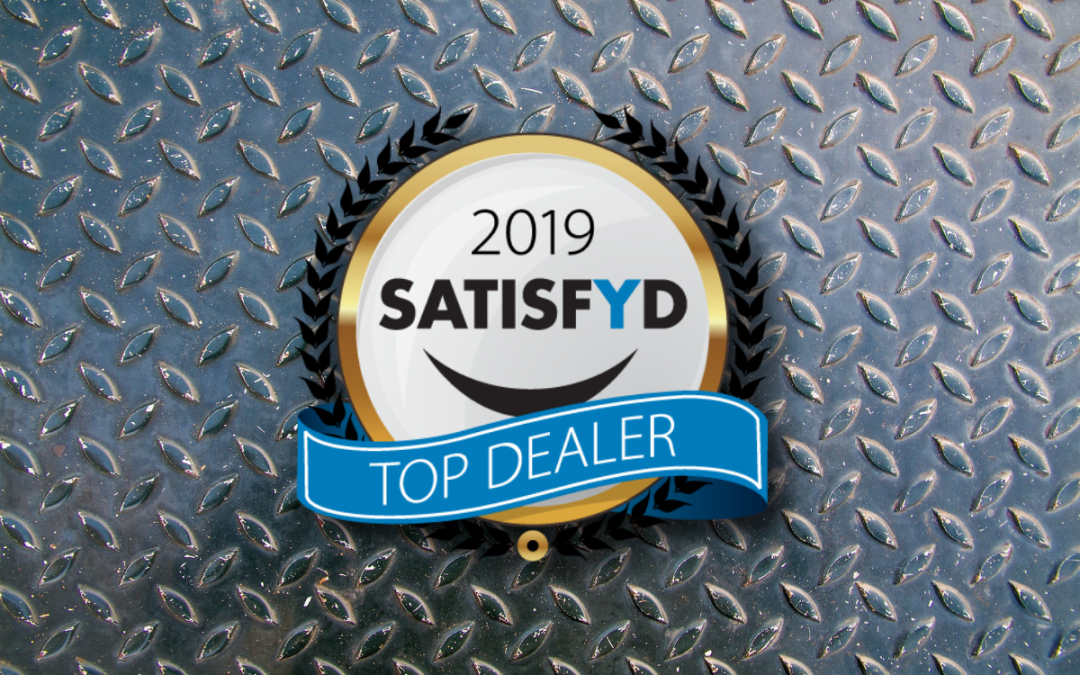 Wiers Ranks in the Top 47 Dealers for the 2019 SATISFYD Top Dealer Awards