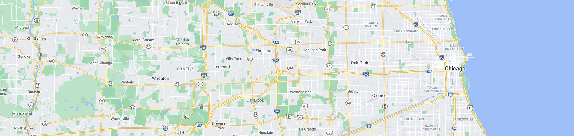Wiers Mobile Service Map Chicago IL